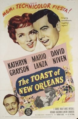 The Toast of New Orleans movie poster (1950) poster MOV_ef01f3f3