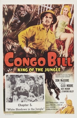Congo Bill movie poster (1948) poster MOV_ef368d7a