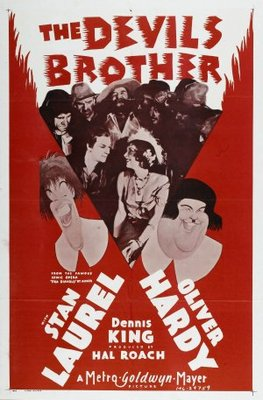 The Devil's Brother movie poster (1933) poster MOV_ef38eb2f