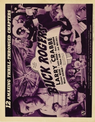 Buck Rogers movie poster (1939) poster MOV_ef401c3f