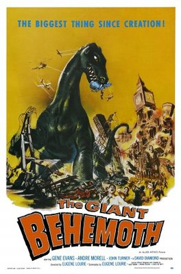 Behemoth, the Sea Monster movie poster (1959) poster MOV_ef4ecbc6