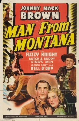 Man from Montana movie poster (1941) poster MOV_ef53f6c3