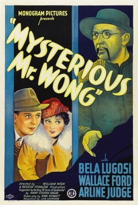 The Mysterious Mr. Wong movie poster (1934) poster MOV_ef867a9e