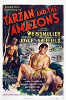 Tarzan and the Amazons movie poster (1945) picture MOV_ef991689