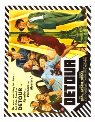 Detour movie poster (1945) poster MOV_ef9e1ace