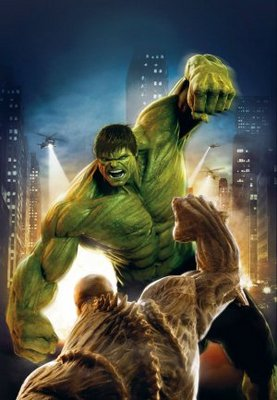The Incredible Hulk movie poster (2008) poster MOV_efa941e2