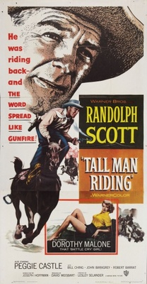 Tall Man Riding movie poster (1955) poster MOV_efc94746
