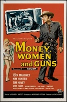 Money, Women and Guns movie poster (1959) picture MOV_efda2d37