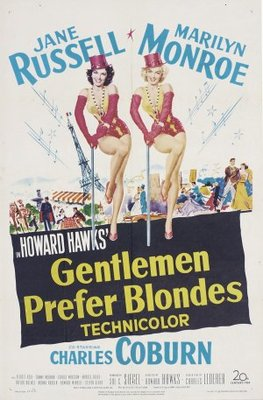 Gentlemen Prefer Blondes movie poster (1953) poster MOV_efdb472a