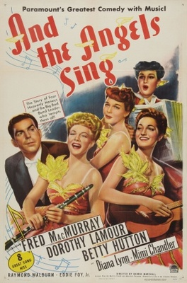 And the Angels Sing movie poster (1944) poster MOV_effd479a