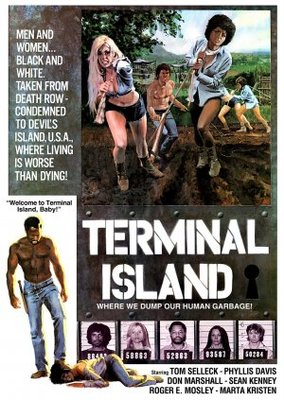 Terminal Island movie poster (1973) poster MOV_f0000df7