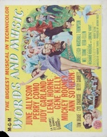 Words and Music movie poster (1948) picture MOV_f03ab9db