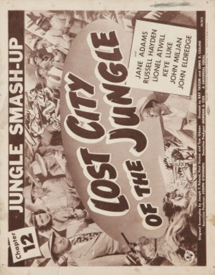 Lost City of the Jungle movie poster (1946) poster MOV_f0476826