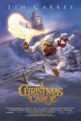 A Christmas Carol movie poster (2009) poster MOV_f05ee291