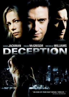Deception movie poster (2008) poster MOV_f07b36ad