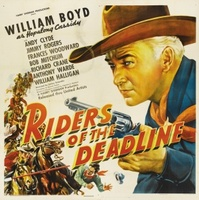 Riders of the Deadline movie poster (1943) picture MOV_f09bcfb5
