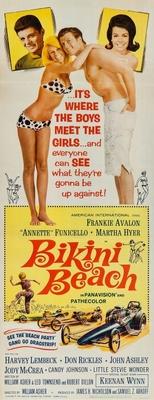Bikini Beach movie poster (1964) poster MOV_f09e8e5a