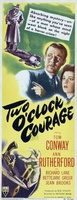 Two O'Clock Courage movie poster (1945) picture MOV_f0aac5db