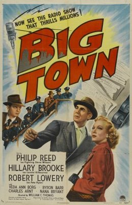 Big Town movie poster (1947) poster MOV_f0bca186