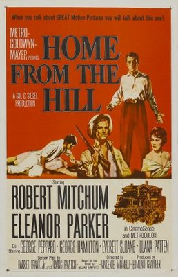 Home from the Hill movie poster (1960) poster MOV_f0d27aea