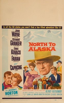 North to Alaska movie poster (1960) poster MOV_f0d3227e
