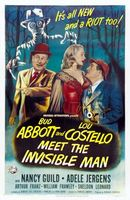 Abbott and Costello Meet the Invisible Man movie poster (1951) picture MOV_ff5a4337
