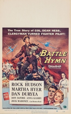 Battle Hymn movie poster (1956) poster MOV_f0e1c775