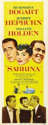 Sabrina movie poster (1954) poster MOV_f0e30dd0