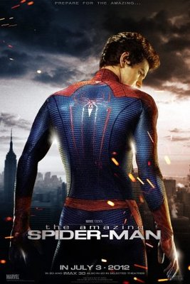Spider-Man movie poster (2012) poster MOV_f0f37da9