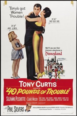 40 Pounds of Trouble movie poster (1962) poster MOV_f0f7e735