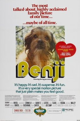 Benji movie poster (1974) poster MOV_f11c18d8