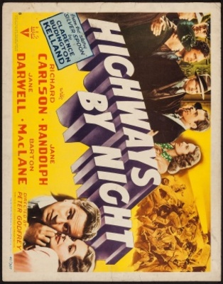 Highways by Night movie poster (1942) poster MOV_f11fc351