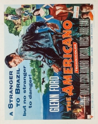 The Americano movie poster (1955) poster MOV_f1239f5a
