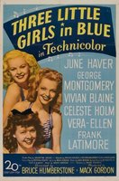 Three Little Girls in Blue movie poster (1946) picture MOV_f12b408c