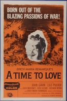 A Time to Love and a Time to Die movie poster (1958) picture MOV_f12f2a51