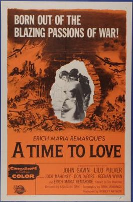 A Time to Love and a Time to Die movie poster (1958) poster MOV_f12f2a51