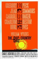 The Big Country movie poster (1958) picture MOV_25de46ac