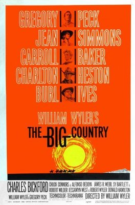 The Big Country movie poster (1958) poster MOV_f13356a6