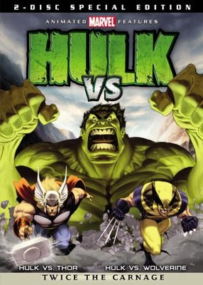 Hulk Vs. movie poster (2009) poster MOV_f139fce0