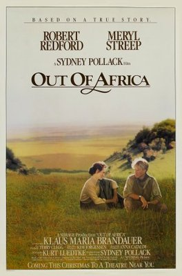 Out of Africa movie poster (1985) poster MOV_f14a2bdf
