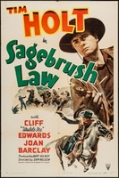 Sagebrush Law movie poster (1943) picture MOV_f154c1d6