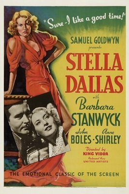 Stella Dallas movie poster (1937) poster MOV_f15f12c8