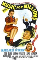 Music for Millions movie poster (1944) picture MOV_89076559
