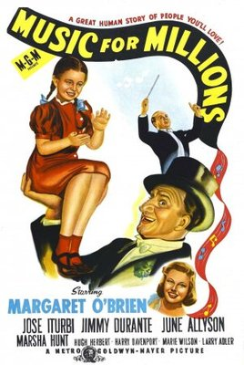 Music for Millions movie poster (1944) poster MOV_f18d45eb