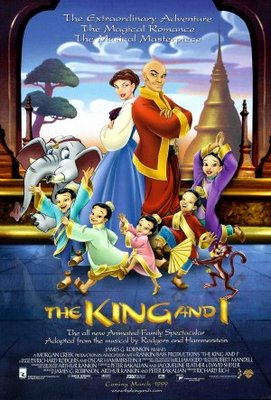 The King and I movie poster (1999) poster MOV_f18ed166