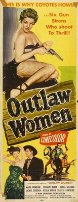 Outlaw Women movie poster (1952) poster MOV_f19ca6c0