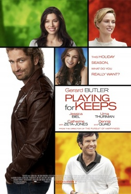 Playing for Keeps movie poster (2012) poster MOV_f1b04276