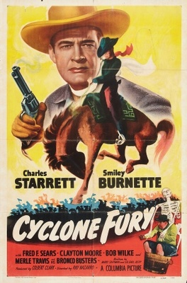 Cyclone Fury movie poster (1951) poster MOV_f1b3a8dc