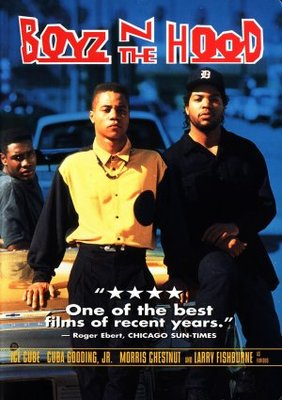 Boyz N The Hood movie poster (1991) poster MOV_f1c20418