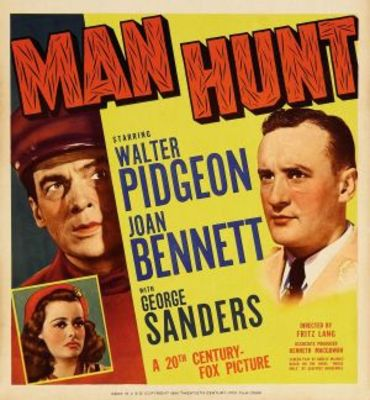 Man Hunt movie poster (1941) poster MOV_f1e78b1b